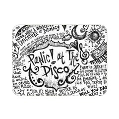 Panic! At The Disco Lyric Quotes Double Sided Flano Blanket (mini)