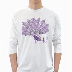 Panic At The Disco White Long Sleeve T Shirts