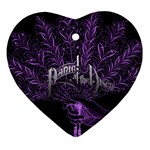 Panic At The Disco Ornament (Heart) Front
