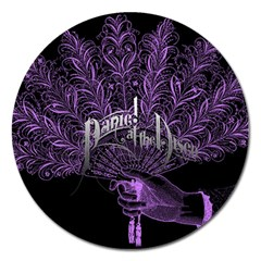 Panic At The Disco Magnet 5  (round)
