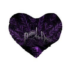 Panic At The Disco Standard 16  Premium Heart Shape Cushions