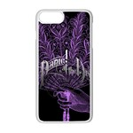 Panic At The Disco Apple iPhone 7 Plus White Seamless Case Front
