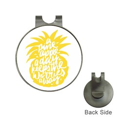 Cute Pineapple Yellow Fruite Hat Clips With Golf Markers