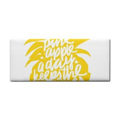 Cute Pineapple Yellow Fruite Cosmetic Storage Cases