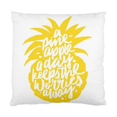 Cute Pineapple Yellow Fruite Standard Cushion Case (one Side)