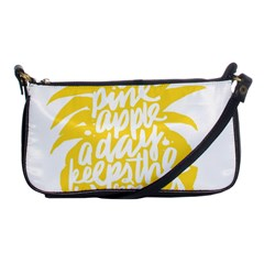 Cute Pineapple Yellow Fruite Shoulder Clutch Bags
