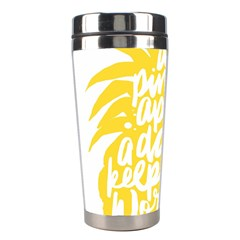 Cute Pineapple Yellow Fruite Stainless Steel Travel Tumblers