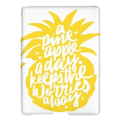 Cute Pineapple Yellow Fruite Samsung Galaxy Tab S (10 5 ) Hardshell Case