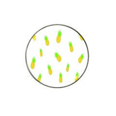 Cute Pineapple Fruite Yellow Green Hat Clip Ball Marker (4 Pack)