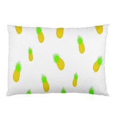 Cute Pineapple Fruite Yellow Green Pillow Case (two Sides)