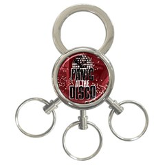 Panic At The Disco Poster 3 Ring Key Chains