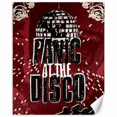 Panic At The Disco Poster Canvas 11  X 14