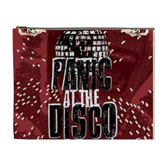 Panic At The Disco Poster Cosmetic Bag (xl)