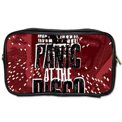 Panic At The Disco Poster Toiletries Bags