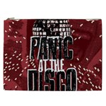 Panic At The Disco Poster Cosmetic Bag (XXL)  Front