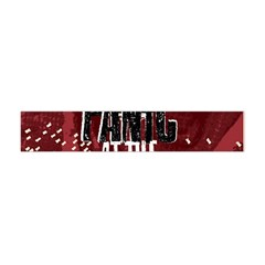 Panic At The Disco Poster Flano Scarf (mini)