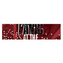 Panic At The Disco Poster Satin Scarf (oblong)