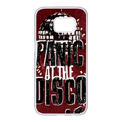Panic At The Disco Poster Samsung Galaxy S7 Edge White Seamless Case