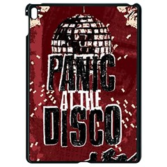 Panic At The Disco Poster Apple Ipad Pro 9 7   Black Seamless Case