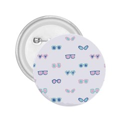 Cute Sexy Funny Sunglasses Kids Pink Blue 2 25  Buttons