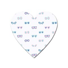 Cute Sexy Funny Sunglasses Kids Pink Blue Heart Magnet