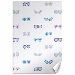 Cute Sexy Funny Sunglasses Kids Pink Blue Canvas 24  X 36