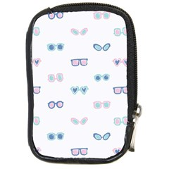 Cute Sexy Funny Sunglasses Kids Pink Blue Compact Camera Cases