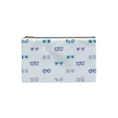 Cute Sexy Funny Sunglasses Kids Pink Blue Cosmetic Bag (small)