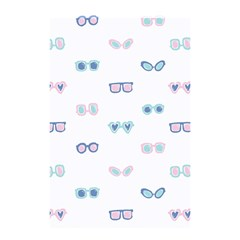 Cute Sexy Funny Sunglasses Kids Pink Blue Shower Curtain 48  X 72  (small)