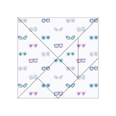 Cute Sexy Funny Sunglasses Kids Pink Blue Acrylic Tangram Puzzle (4  X 4 )