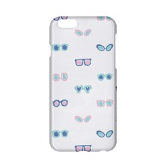 Cute Sexy Funny Sunglasses Kids Pink Blue Apple Iphone 6/6s Hardshell Case