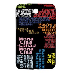 Panic At The Disco Northern Downpour Lyrics Metrolyrics Samsung Galaxy Tab 3 (7 ) P3200 Hardshell Case