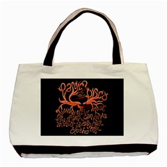 Panic At The Disco   Lying Is The Most Fun A Girl Have Without Taking Her Clothes Basic Tote Bag (two Sides)