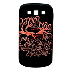 Panic At The Disco   Lying Is The Most Fun A Girl Have Without Taking Her Clothes Samsung Galaxy S Iii Classic Hardshell Case (pc+silicone)