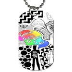 Panic ! At The Disco Dog Tag (One Side) Front