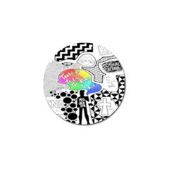 Panic ! At The Disco Golf Ball Marker (4 Pack)