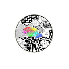 Panic ! At The Disco Hat Clip Ball Marker (10 Pack)