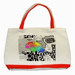 Panic ! At The Disco Classic Tote Bag (red)