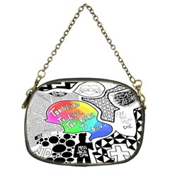 Panic ! At The Disco Chain Purses (two Sides)