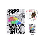 Panic ! At The Disco Playing Cards (Mini)  Back