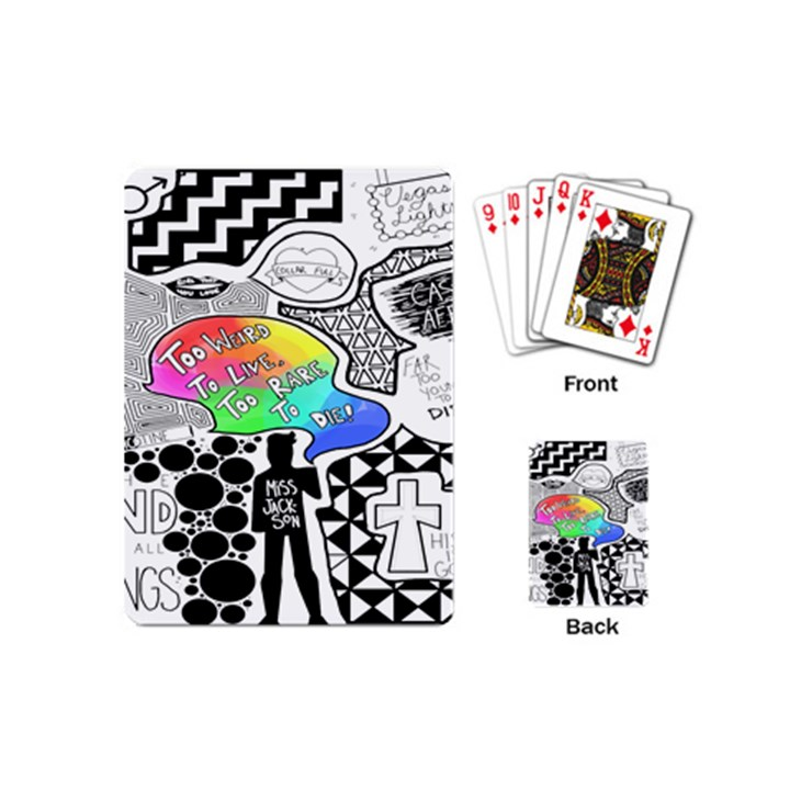 Panic ! At The Disco Playing Cards (Mini)