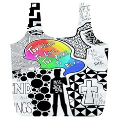 Panic ! At The Disco Full Print Recycle Bags (l)