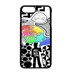 Panic ! At The Disco Apple Iphone 7 Plus Seamless Case (black)