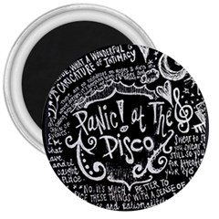 Panic ! At The Disco Lyric Quotes 3  Magnets