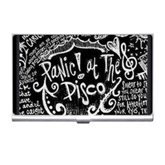 Panic ! At The Disco Lyric Quotes Business Card Holders