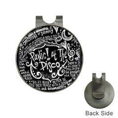 Panic ! At The Disco Lyric Quotes Hat Clips With Golf Markers