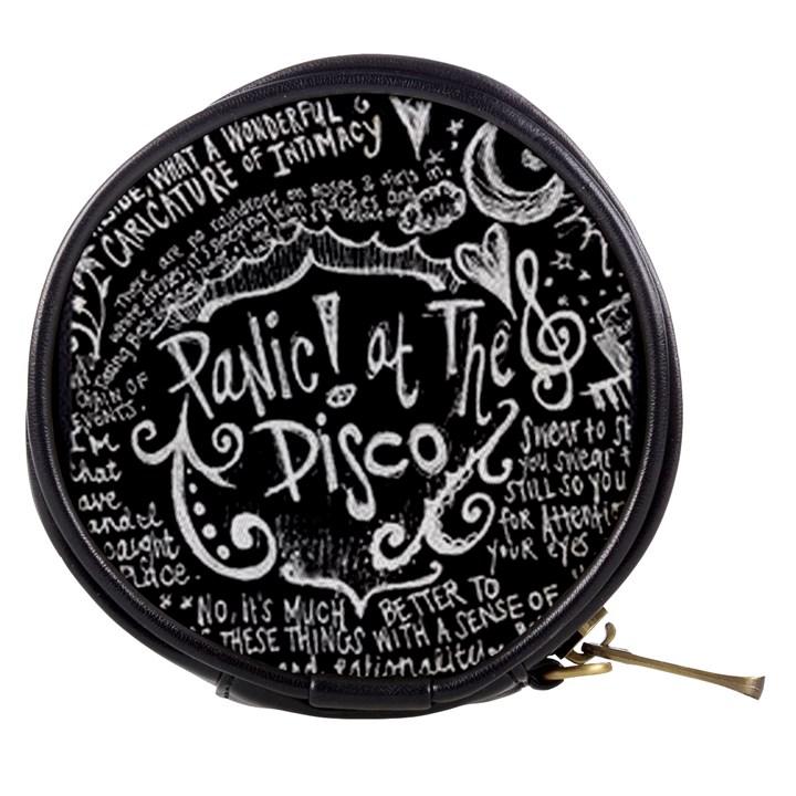 Panic ! At The Disco Lyric Quotes Mini Makeup Bags