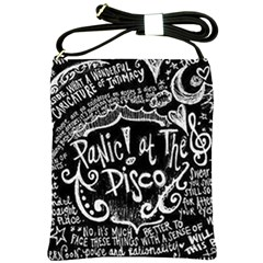 Panic ! At The Disco Lyric Quotes Shoulder Sling Bags