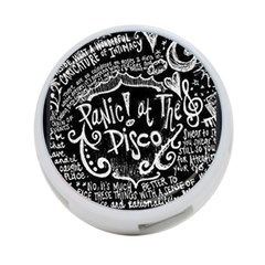 Panic ! At The Disco Lyric Quotes 4 Port Usb Hub (two Sides)