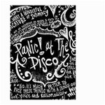 Panic ! At The Disco Lyric Quotes Small Garden Flag (Two Sides) Back